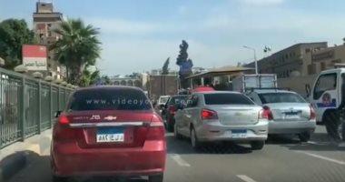 تعرف على الحالة المرورية بمحافظتي القاهرة والجيزة