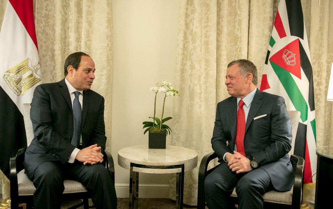 العاهل الأردني يهنئ الرئيس السيسي بافتتاح قاعدة برنيس: إنجاز يرسخ الأمن