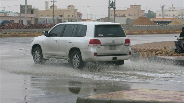 أمطار متوسطة تضرب قرى ومدن الشرقية