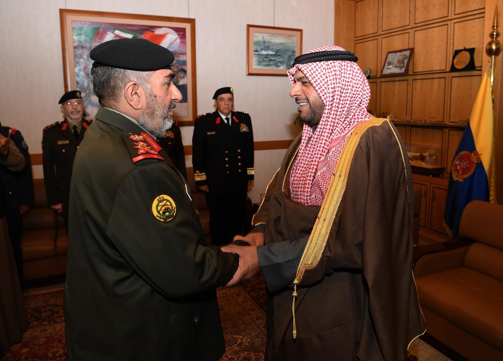 ترقية اللواء خالد الصباح لفريق وتعيينه نائبًا لرئيس الأركان الكويتي