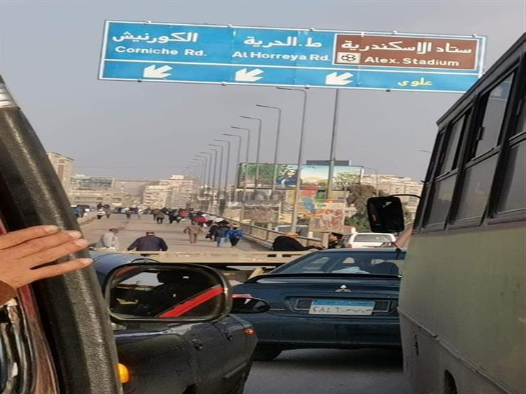 الانتهاء من إصلاح كوبري محرم بك بالإسكندرية
