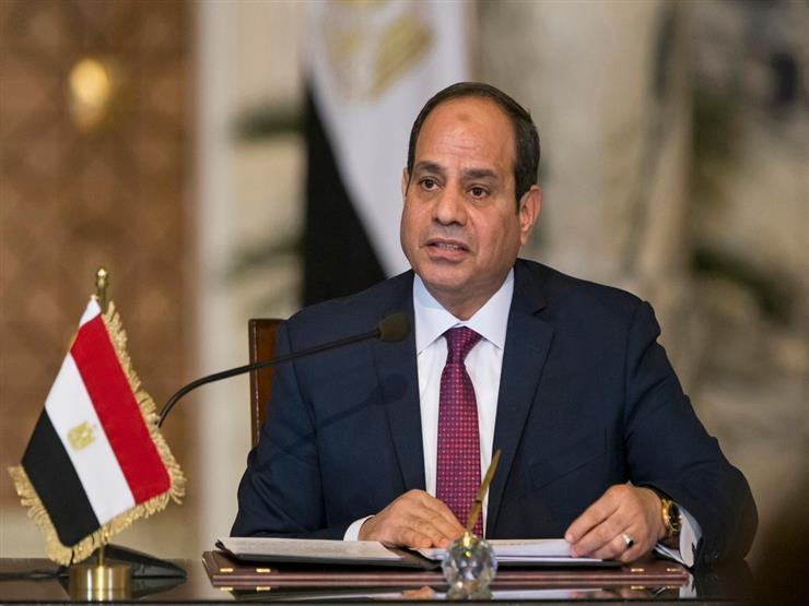 السيسى يستقبل رئيس الوزراء الإيطالى جوزيبى كونتى بقصر الاتحادية