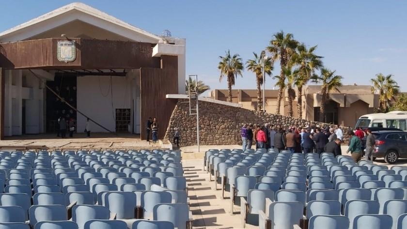 ثقافة النواب توصى بإيجاد مكان بديل للمسرح الصيفى بمدينة الطور