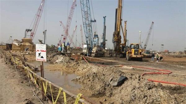 إنشاء محطة معالجة لمياه مصرف بحر البقر