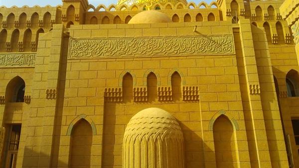 وزير الأوقاف يفتتح مسجد الرحمة بطور سيناء
