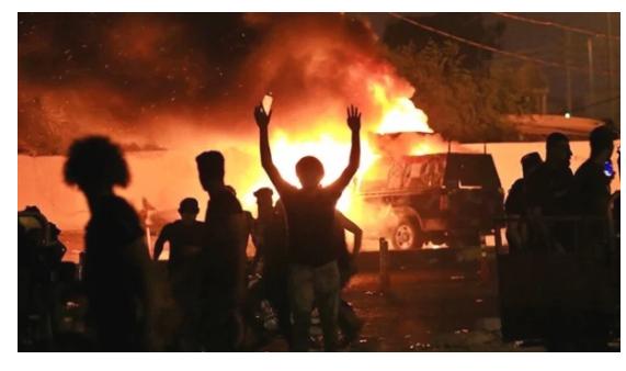 إصابة 3 أشخاص في سقوط قذيفة هاون وسط بغداد