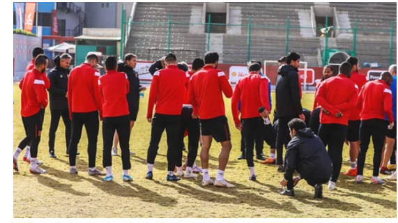 الفريق إجازة.. 5 لاعبين فقط في مران الأهلي قبل مباراة طنطا