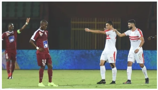 طاقم تحكيم سنغالي لإدارة مباراة الزمالك ومازيمبي في دوري أبطال أفريقيا