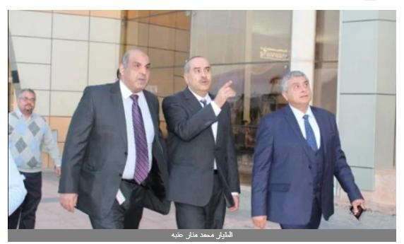 وزير الطيران ونائبه يتفقدان سير العمل في مطار شرم الشيخ الدولي.. صور