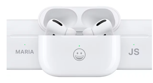 Apple تطبع اللوجو المفضل لك على سماعات AirPods و AirPods Pro