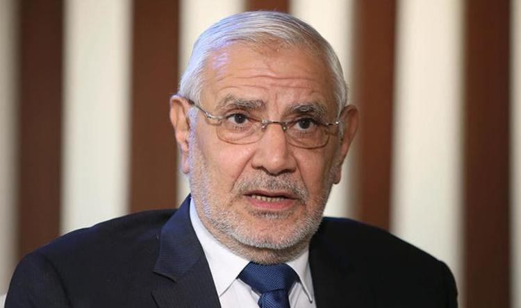 الجنايات تجدد حبس عبد المنعم أبو الفتوح فى اتهامه بالتحريض ضد الدولة 45 يوما