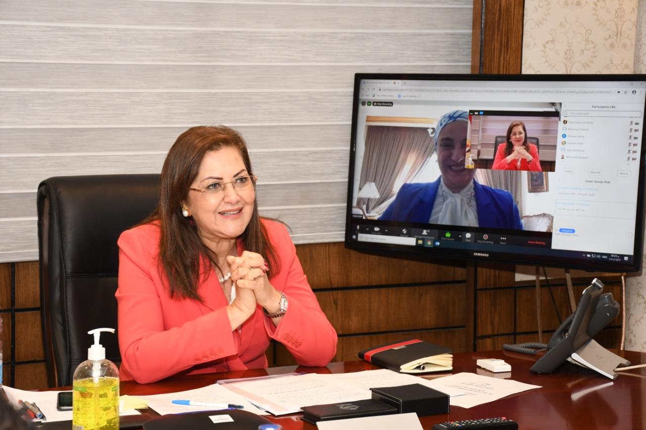 وزيرة التخطيط: نسعى لترسيخ مجال ريادة الأعمال فى نظم التعليم