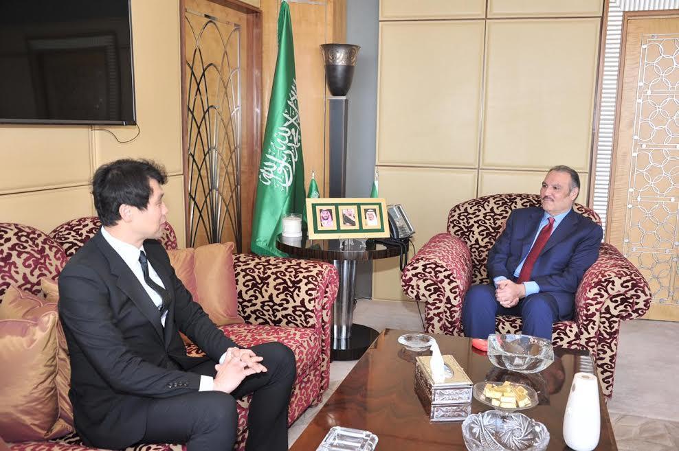 السفير السعودي بالقاهره يلتقي سفير كوريا الجنوبية