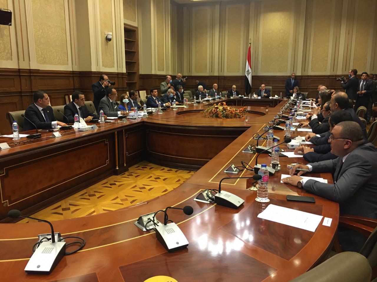 بدء الاجتماع الرابع لـ لجنة اعداد لائحة مجلس اشيوخ