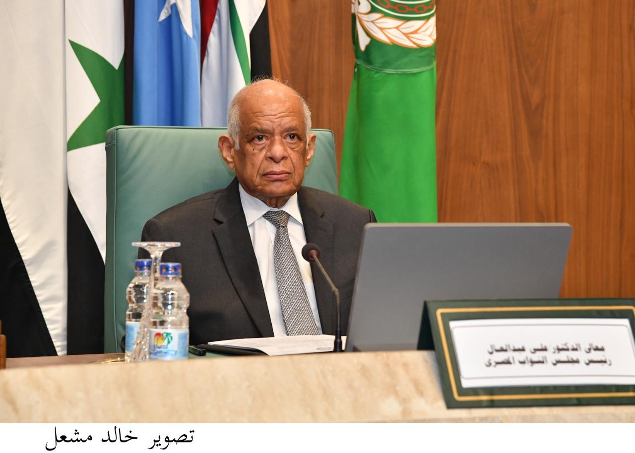 عبد العال ينعى المستشار لاشين إبراهيم رئيس الهيئة الوطنية للانتخابات