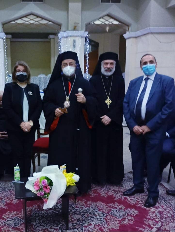 المستشار عبد الوهاب عبد الرازق يهنىء الاقباط الكاثوليك بعيد الميلاد المجيد
